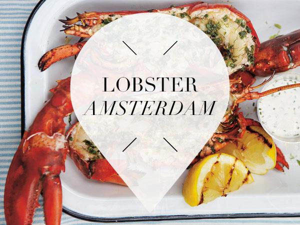 Lobster in Amsterdam