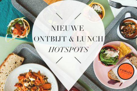 Nieuwe ontbijt en lunch hotspots