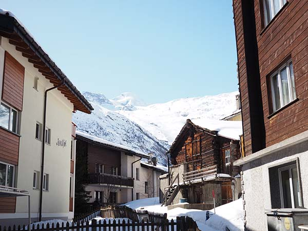 Saas-Fee Wallis Zwitserland