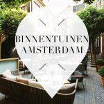 binnentuinen in amsterdam