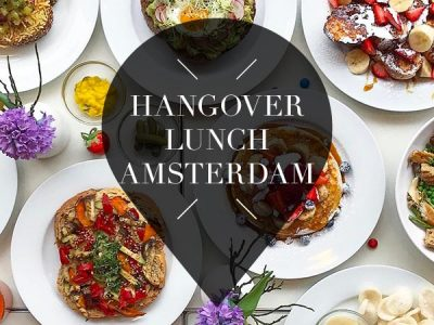 hangover lunch in amsterdam