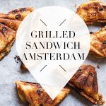 grilled sandwich in amsterdam