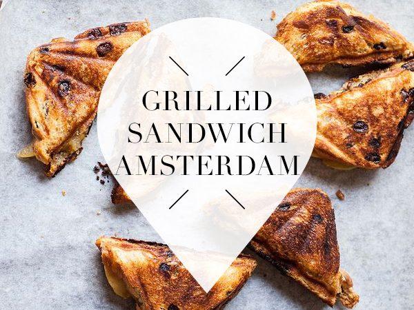 grilled sandwich in amsterdam