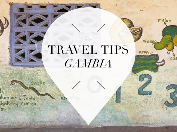 Goed om te weten in gambia