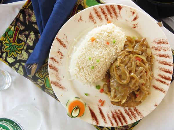 eten en drinken in gambia