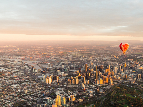Hot-air balloon rides in the world