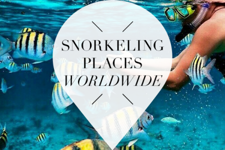 Snorkeling places worldwide