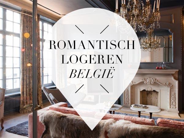 Romantisch logeren in België