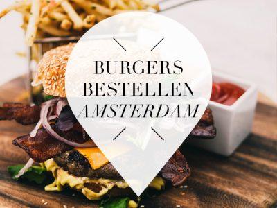 burgers bestellen in Amsterdam
