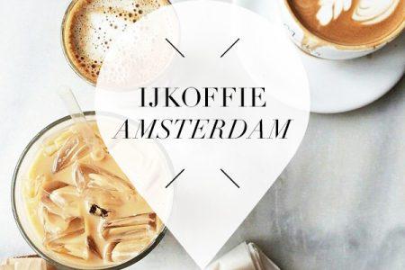 ijskoffie in amsterdam