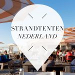 strandtenten in nederland