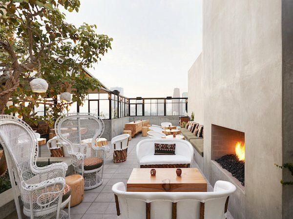 rooftop bars los angeles