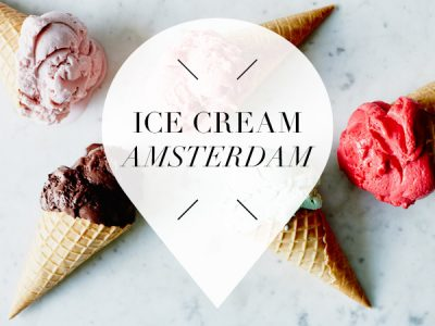 ice cream in amsterdam