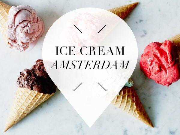ice cream in amsterdam