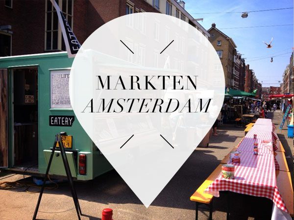markten in amsterdam