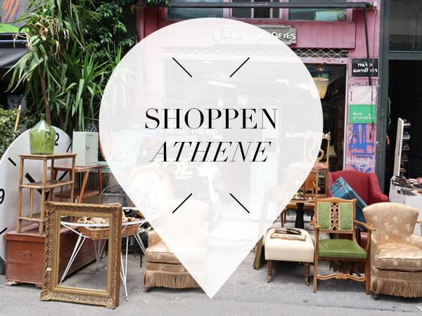 shoppen in athene