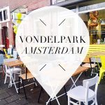 vondelpark in amsterdam