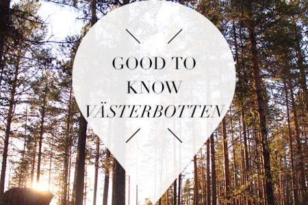 weetjes over Västerbotten