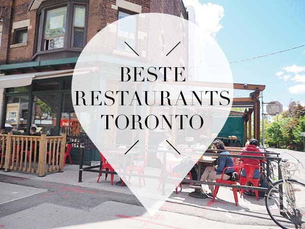 beste restaurants toronto