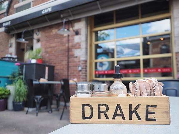 the drake restaurant toronto