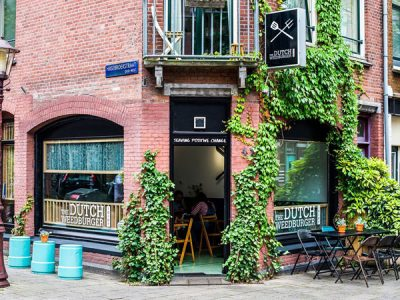 The Dutch Weed Burger Joint Amsterdam