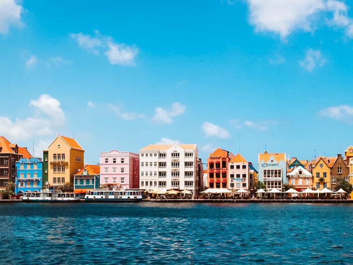 kleurrijke steden