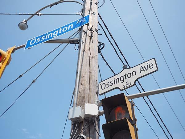 Ossington Avenue Toronto