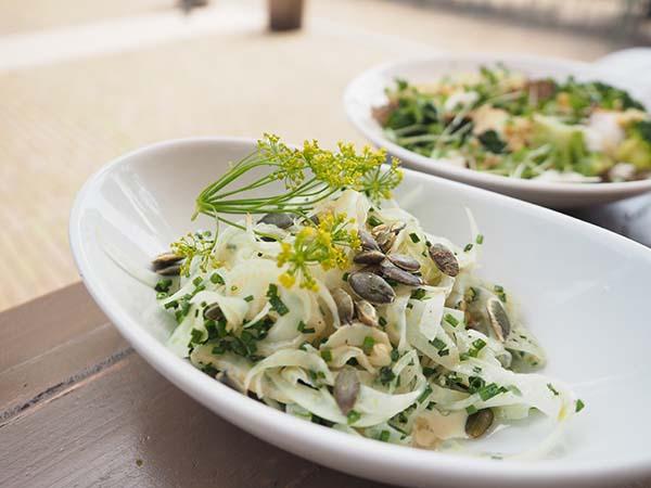 Park Café Restaurant Amsterdam salade