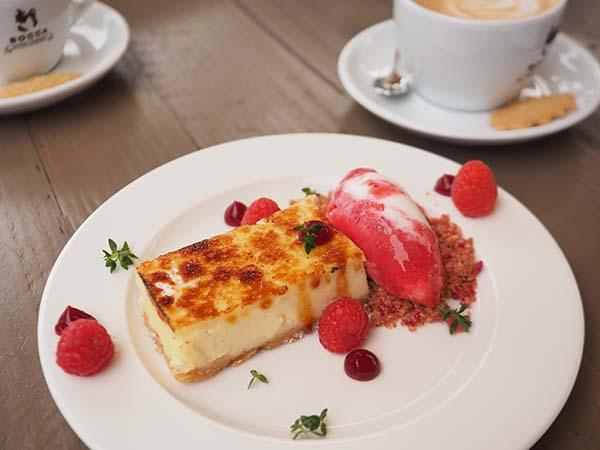 Park Café Restaurant Amsterdam cheese cake
