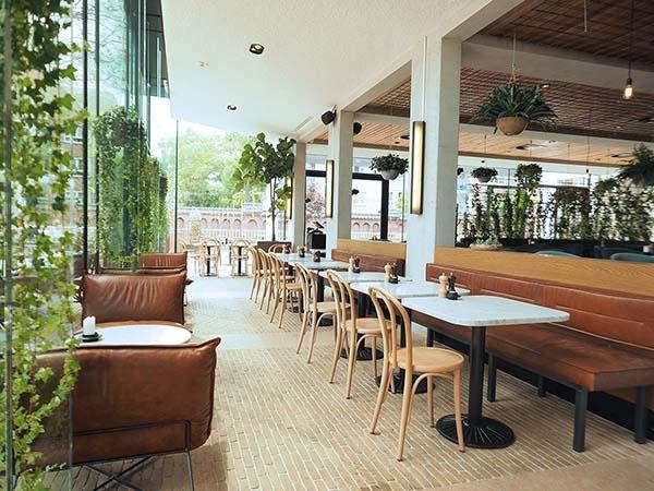 Park Café Restaurant Amsterdam ineterieur