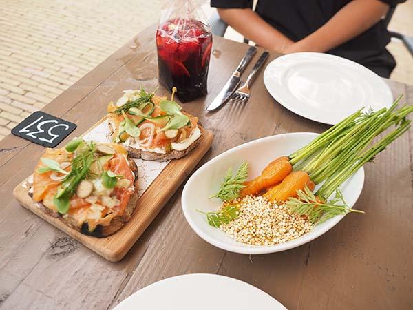 Park Café Restaurant Amsterdam carrots