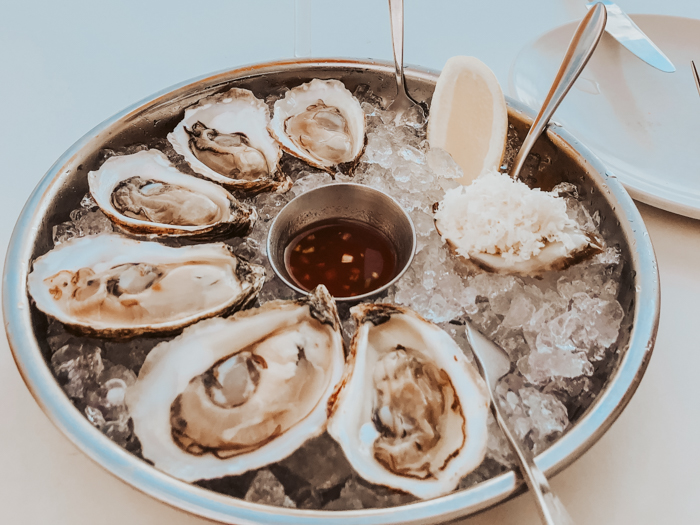 oesters eten amsterdam