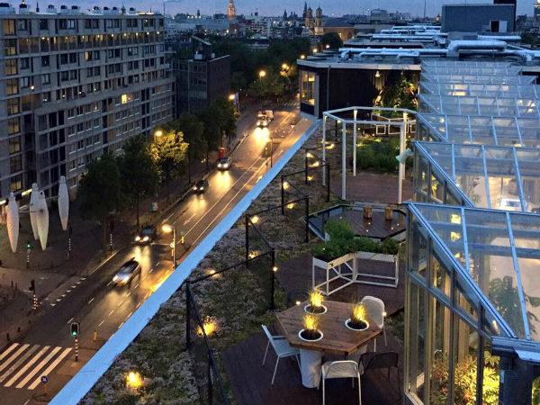 rooftop zoku amsterdam