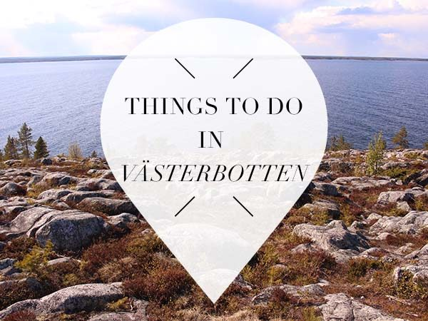 things to do vasterbotten swedish lapland