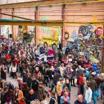 Moderne Hippie Markt