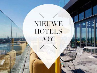 nieuwe hotels new york