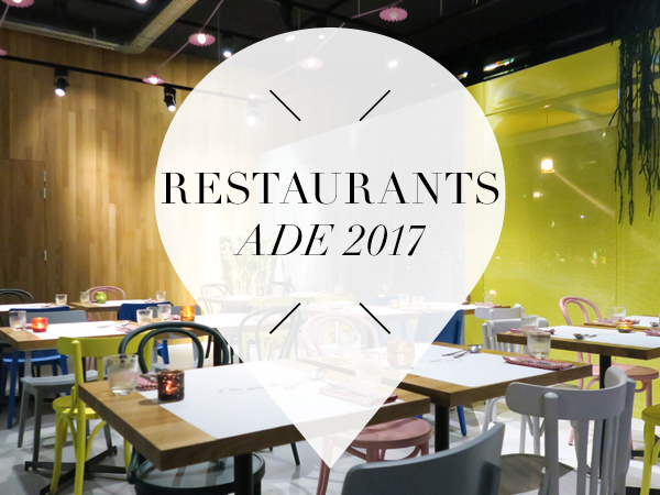 Restaurants for ADE 2017