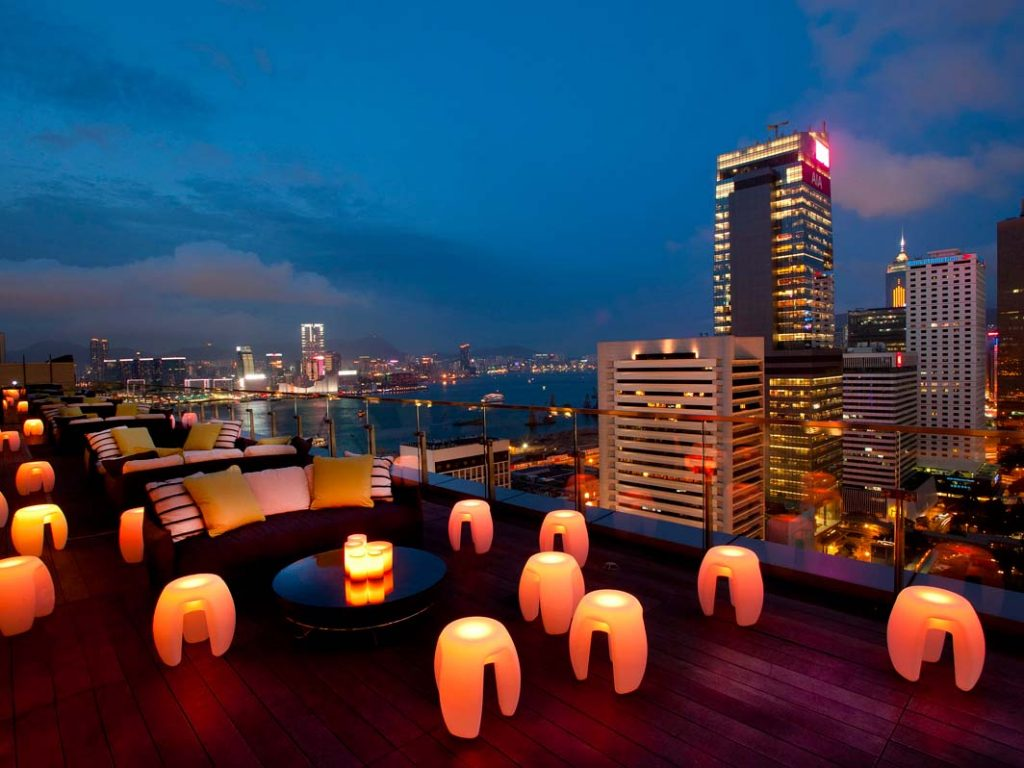 rooftop bars hong kong