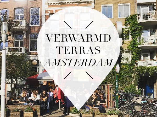 verwarmd terras in Amsterdam