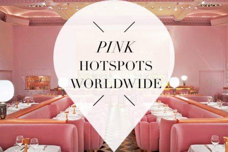 pink hotspots worldwide