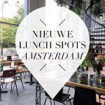 nieuwe lunch hotspots amsterdam