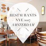 New Years Eve restaurants 2017 Amsterdam