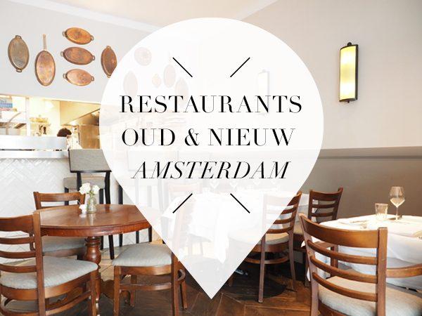 oud en nieuw restaurants 2017 amsterdam