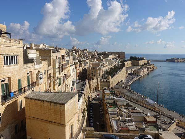 valletta city view malta