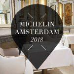 michelin sterren restaurants amsterdam