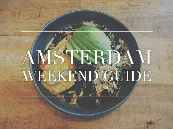741c610e352 Amsterdam Weekend Guide for January 12, 13 and 14 // Your Little ...