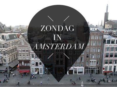 zondag in amsterdam