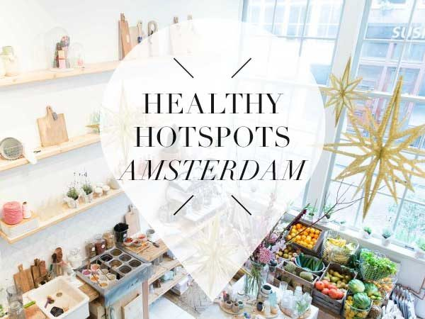 healthy hotspots in amsterdam pointer