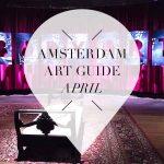 amsterdam art guide april