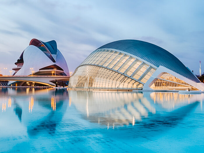 Valencia city of arts and science